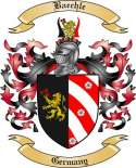 Baechle Family Crest from Germany2