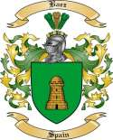 Baez Family Coat of Arms from Spain