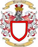 Bagendorf Family Crest from Germany