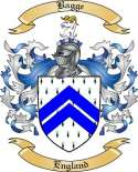 Bagge Family Crest from England2