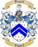 Baggett Family Coat of Arms from England2