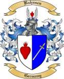 Bahnsen Family Crest from Germany