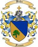 Bahu Family Crest from France