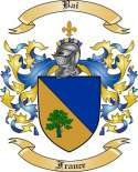 Bai Family Crest from France