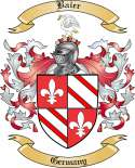 Baier Family Coat of Arms from Germany