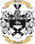 Baiker Family Coat of Arms from England2