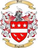 Bail Family Crest from England