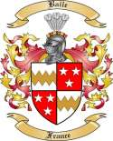 Baile Family Coat of Arms from France