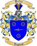 Bailes Family Coat of Arms from England2
