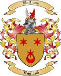 Baitman Family Crest from Scotland