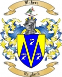 Bakere Family Coat of Arms from England3