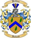 Bakken Family Crest from Holland