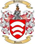Balaban Family Crest from Bosnia