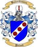 Balcerkiewicz Family Crest from Poland