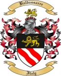 Baldassarre Family Crest from Italy
