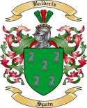 Balderiz Family Coat of Arms from Spain