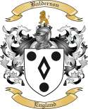 Balderson Family Coat of Arms from England