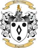 Balderston Family Coat of Arms from England