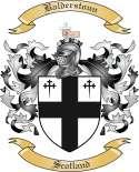 Balderstoun Family Coat of Arms from Scotland