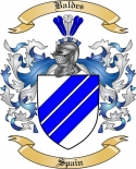Baldes Family Crest from Spain