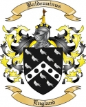 Baldeuuinus Family Crest from England
