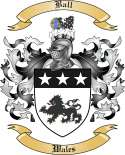 Ball Family Crest from Wales