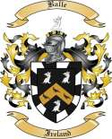 Balle Family Crest from Ireland