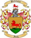 Balsimini Family Crest from Italy