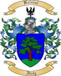 Balsini Family Crest from Italy