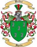Baltar Family Crest from Spain