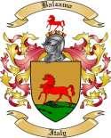 Balzamo Family Coat of Arms from Italy