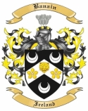 Banain Family Crest from Ireland