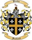 Banks Family Crest from Scotland