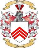 Banne Family Crest from France