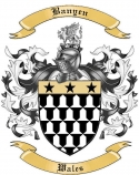 Banyen Family Coat of Arms from Wales