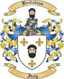 Barbatano Family Coat of Arms from Italy