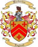 Barberton Family Coat of Arms from England