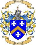 Barcaly Family Crest from Scotland