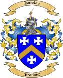 Barclay Family Coat of Arms from Scotland