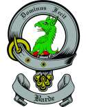 Barde Family Coat of Arms from Scotland2