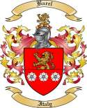 Barel Family Coat of Arms from Italy
