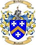 Barkelai Family Coat of Arms from Scotland