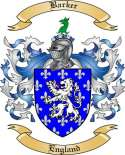 Barker Family Crest from England