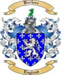 Barkere Family Coat of Arms from England