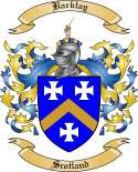 Barklay Family Coat of Arms from Scotland