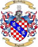 Barksdale Family Crest from England
