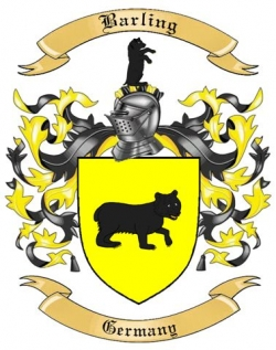 Barling Family Crest from Germany
