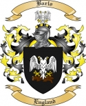 Barlo Family Coat of Arms from England