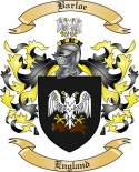 Barloe Family Crest from England