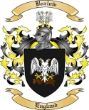 Barlow Family Coat of Arms from England